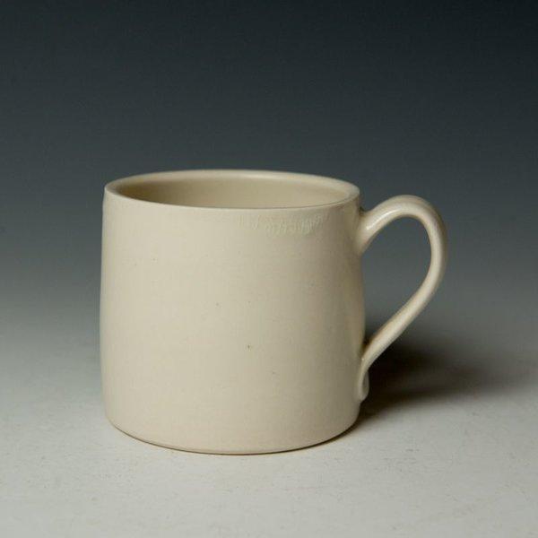 """Stephanie Wilhelm Stephanie Wilhelm, Basset Mug, porcelain, gold luster, 3.5 x 3.5"""""""