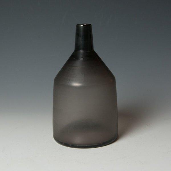 Devin Burgess Devin Burgess, Apollo Vase, handblown glass, sanded