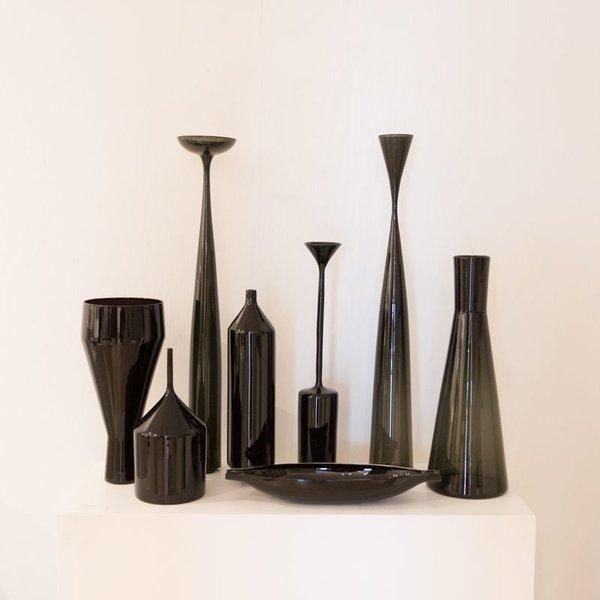 Devin Burgess Devin Burgess, Black Funnel Study, handblown glass