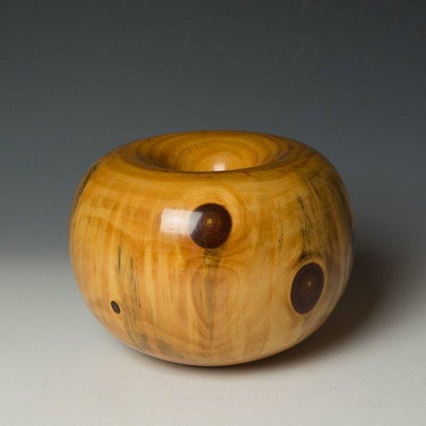 "Ed Moulthrop Ed Moulthrop, White Pine Donut, 1992, 5.75 x 8"""