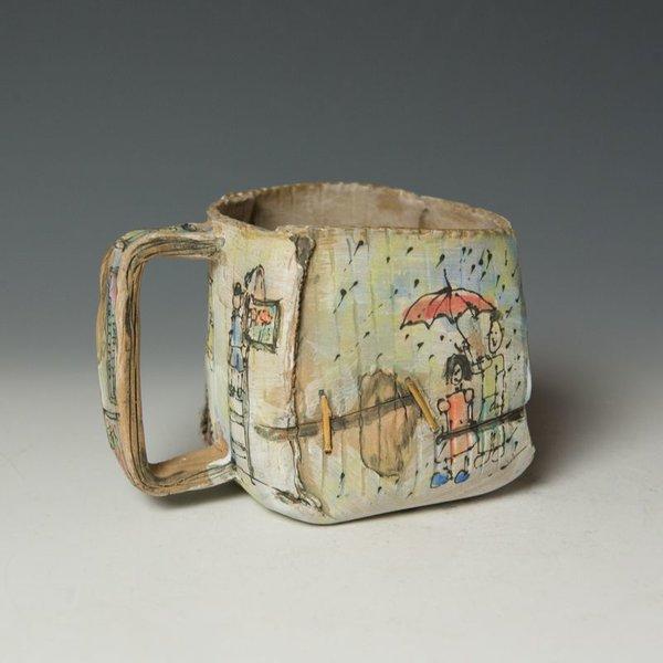 """KB Lim Keok Lim, Mug, stoneware, 4 x 5.25 x 4"""""""
