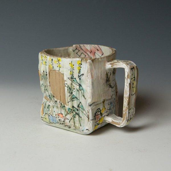 """Keok (KB) Lim Keok Lim, Mug, stoneware, 4 x 5.25 x 4"""""""