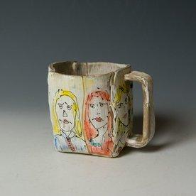 "Keok Lim Keok Lim, Mug, stoneware, 4 x 4.75 x 4.5"""