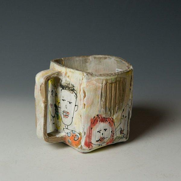 """KB Lim Keok Lim, Mug, stoneware, 4 x 4.75 x 4.5"""""""