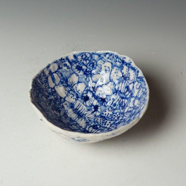 "KB Lim Keok Lim, Small Bowl, porcelain, 2.25 x 5"" dia"