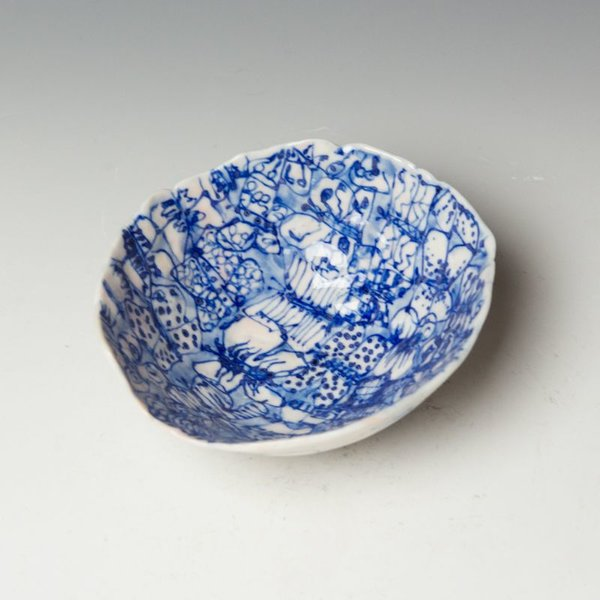 "Keok (KB) Lim Keok Lim, Small Bowl, porcelain, 2 x 5.25"" dia"