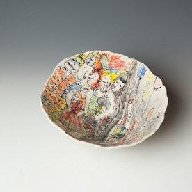 "Keok Lim Keok Lim, Large Bowl, porcelain, 5.5 x 7"" dia"