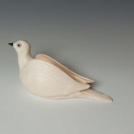 """Ann Housworth Ann Housworth, Dove, porcelain, glaze, , 4.25 x 9 x 3.75"""""""