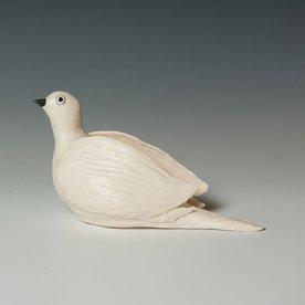 """Ann Housworth Ann Housworth, Dove, porcelain, glaze, , 4.75 x 7.5 x 3.5"""""""