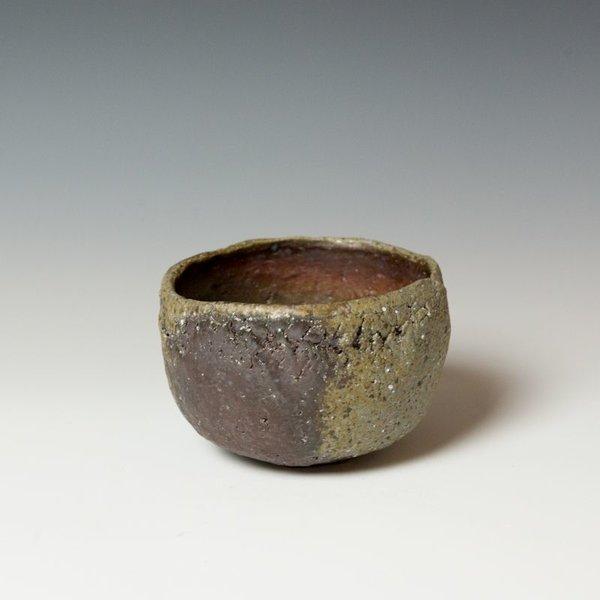 """Mitch Iburg Mitch Iburg, Chawan, natural ash, 3.75 x 5.5 x5.5"""""""