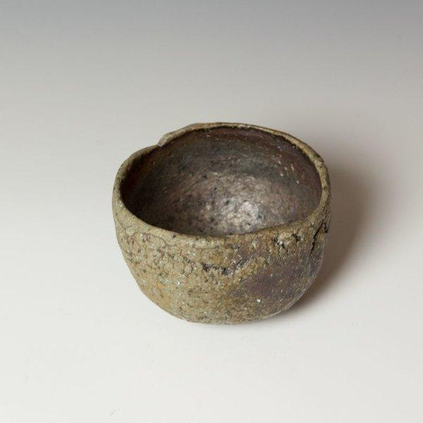 "Mitch Iburg, Chawan, natural ash, 3.75 x 5.5 x5.5"""