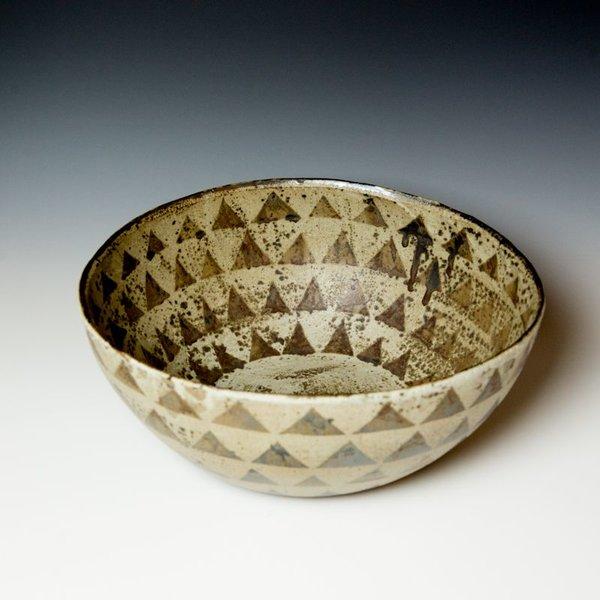 "Melissa Weiss Melissa Weiss, Giant Bowl, stoneware, 6.75 x 16.75"" dia."