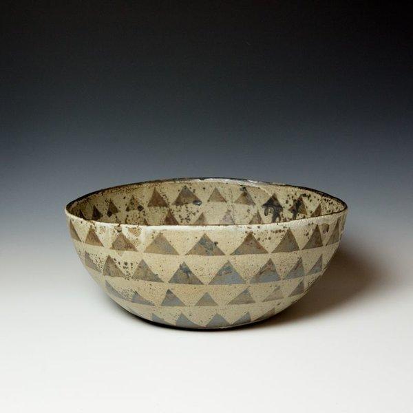 """Melissa Weiss, Giant Bowl, stoneware, 6.75 x 16.75"""" dia."""