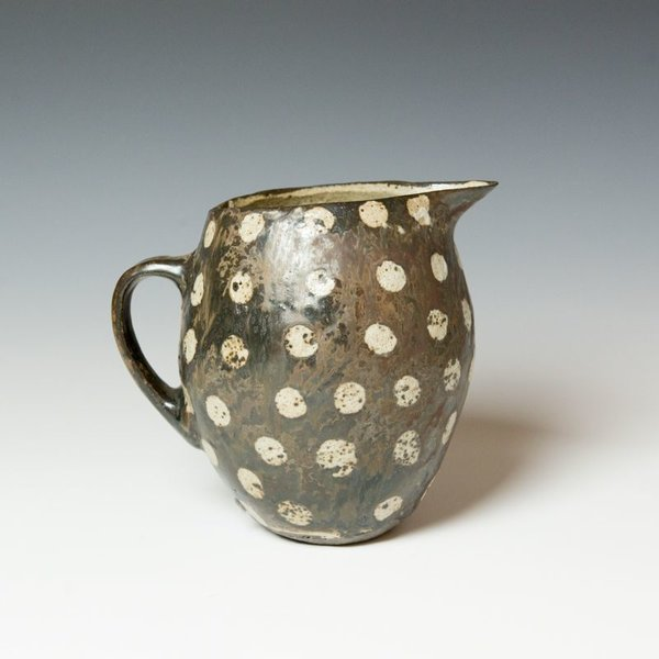 """Melissa Weiss Melissa Weiss, Creamer, stoneware, 7.25 x 8 x 6.5"""""""