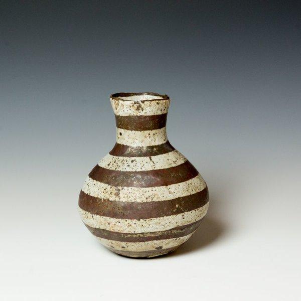 """Melissa Weiss Melissa Weiss, Vase, stoneware, 8 x 6"""" dia."""