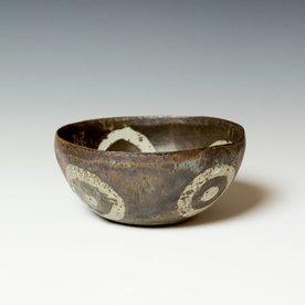 "Melissa Weiss Melissa Weiss, Cave Bowl, stoneware, 3.25 x 7"" dia."