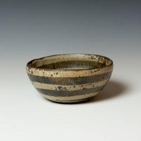 "Melissa Weiss Melissa Weiss, Cave Bowl, stoneware, 3,5 x 7.75"" dia."