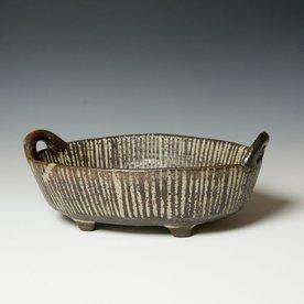 "Melissa Weiss Melissa Weiss, Potluck Dish, stoneware, 5 x 13.75 x 9.5"""