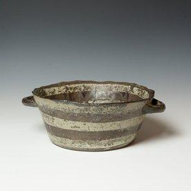 "Melissa Weiss Melissa Weiss, Coil Bowl, stoneware, 4.75 x 13.5 x 11.5"""