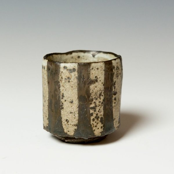 "Melissa Weiss Melissa Weiss, Kurinuki Teacup, stoneware, 2.75 x 2.5"" dia."