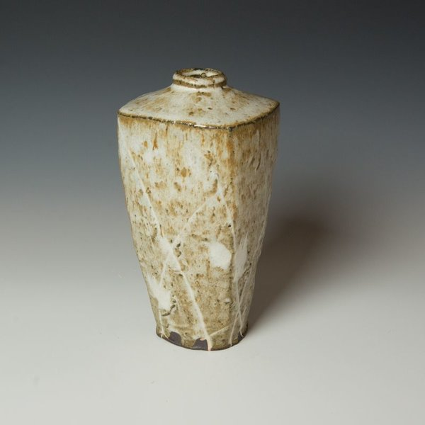 Hunt and Dalglish Michael Hunt & Naomi Dalglish, Square Bottle, nuka glaze