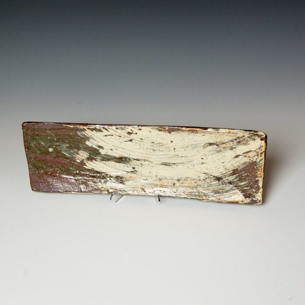 Hunt and Dalglish Michael Hunt & Naomi Dalglish, Brick Tray, hakame slip, clear glaze