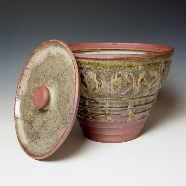 Elijah Ferguson Elijah Ferguson, Lidded Jar