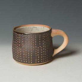 "Nancy Green Nancy Green, Mug, stoneware, wood-fired,  3.25 x 5.5 x 4"""