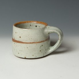 "Nancy Green Nancy Green, Mug, stoneware, wood-fired,  3.5 x 5.5 x 3.75"""