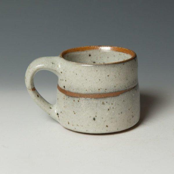 "Nancy Green Nancy Green, Mug, stoneware, wood-fired,  3.25 x 5.25 x 4"""