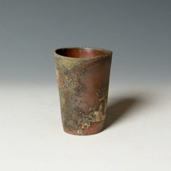 Catherine White Catherine White, Poem Cup, wood-fired stoneware, 3.5 x 2.5""