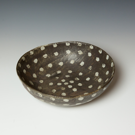 "Melissa Weiss Melissa Weiss, Philly Bowl, stoneware, 4 x 13.75"" dia."