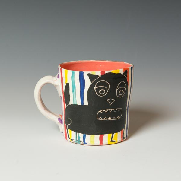 "Kurt Anderson Kurt Anderson, Mug, stoneware, 4 x 5.5 x 4.25"""