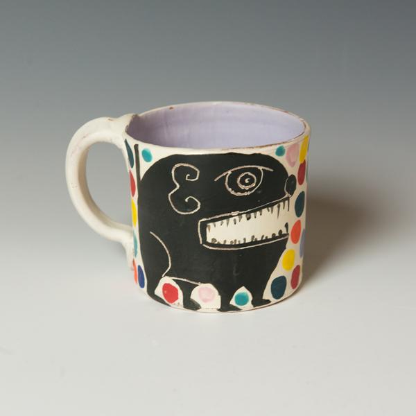 "Kurt Anderson Kurt Anderson, Mug, stoneware, 3.75 x 5.5 x 4.25"""