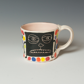 "Kurt Anderson Kurt Anderson, Mug, stoneware, 3.5 x 5.75 x 4.25"""