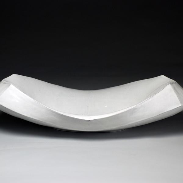 "Jerilyn Virden Jerilyn Virden, Hollow Rectangle, handbuilt earthenware, 24.5"" x 12.25"" x 8"""