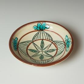 "Maria Dondero Maria Dondero, Bowl, earthenware, 2 x 7"" dia."