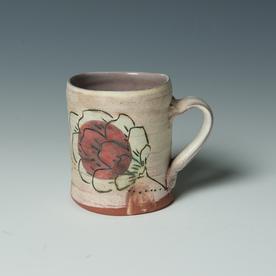 "Maria Dondero Maria Dondero, Mug, earthenware, 3.75 x 4.25 x 3.25"""