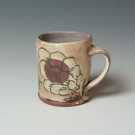 "Maria Dondero Maria Dondero, Mug, earthenware, 3.75 x 4 x 3.25"""