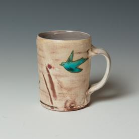 "Maria Dondero Maria Dondero, Mug, earthenware, 4.75 x 4.5 x 3.5"""