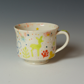 Masa Sasaki Masa Sasaki, Princess Mug, porcelain, glaze