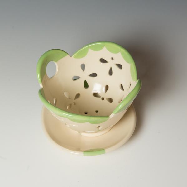 "Berry Bowl Kristen Kieffer, Berry Bowl Set, porcelain,4.25 7 x 6.75"""
