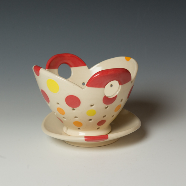 Berry Bowl Kristen Kieffer, Berry Bowl Set, porcelain, 4.25 x 7 x 6.75""