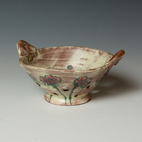 Berry Bowl Maria Dondero, Berry Bowl, earthenware, 4 x 8 x 6.75""