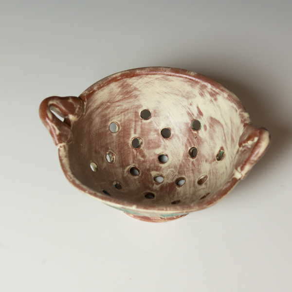 Berry Bowl Maria Dondero, Berry Bowl, earthenware, 3.75 x 7.75 x 6.75""