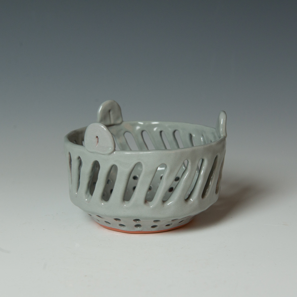 "Berry Bowl Kari Woolsey Berry Bowl, terracotta, 3.25 x 4.75"" dia."