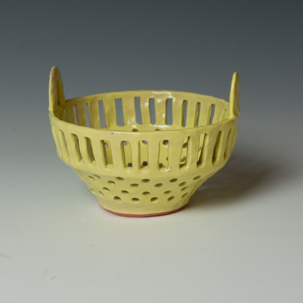 "Berry Bowl Kari Woolsey, Berry Bowl, terracotta, 4.5 x 6"" dia."