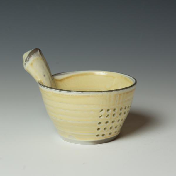 """Berry Bowl Kenyon Hansen, Berry Bowl, soda-fired stoneware, 5 x 6.75 x 5"""""""
