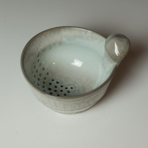 """Berry Bowl Kenyon Hansen, Berry Bowl, soda-fired stoneware, 4.5 x 6.25 x 5.25"""""""