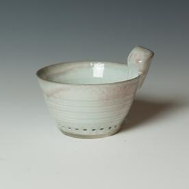 """Kenyon Hansen Kenyon Hansen, Berry Bowl, soda-fired stoneware, 4.5 x 6.25 x 5.25"""""""
